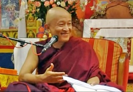 Rinpoche teaching on 'Letter to a friend'